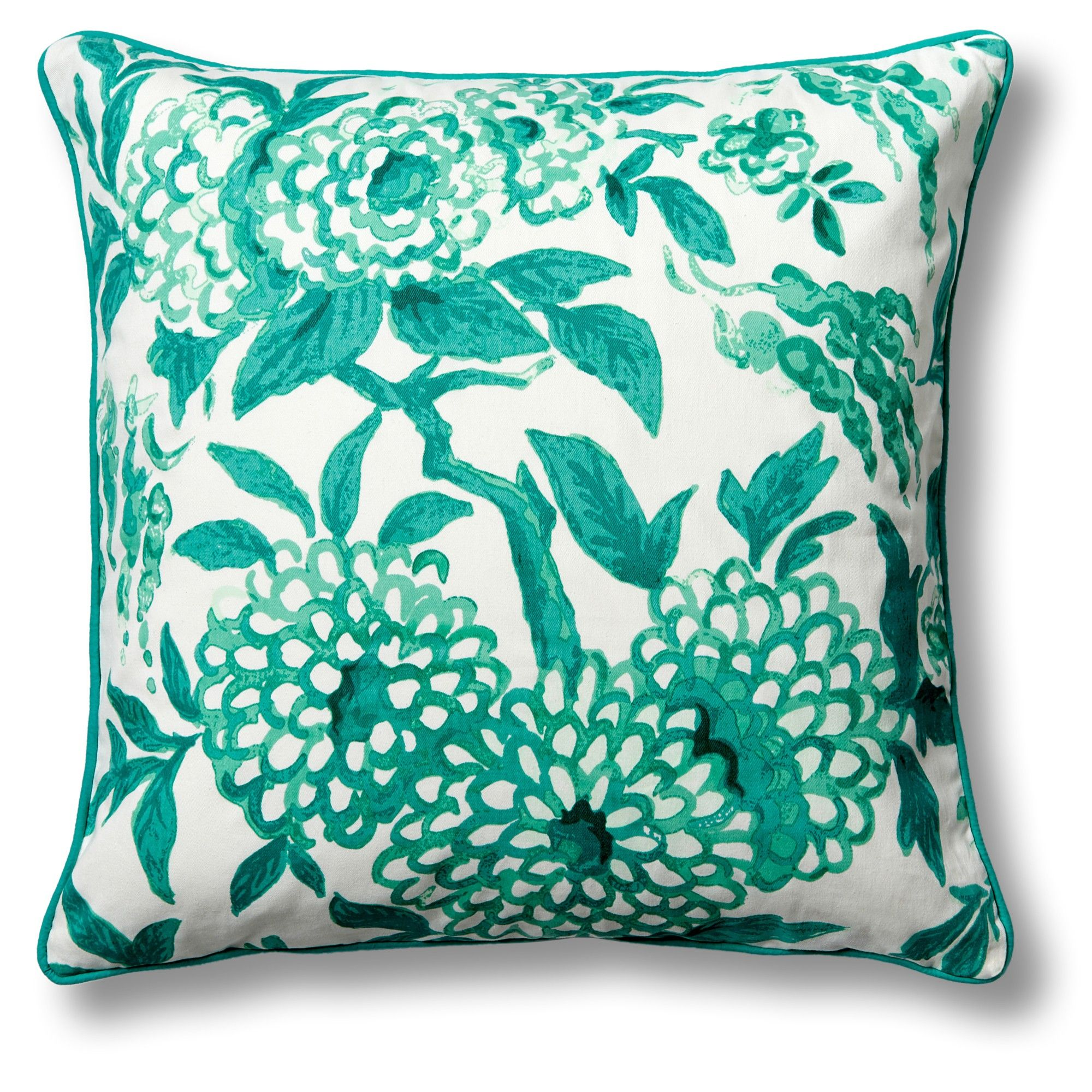 Love this printed chinoiserie pillow cover for on c wonder