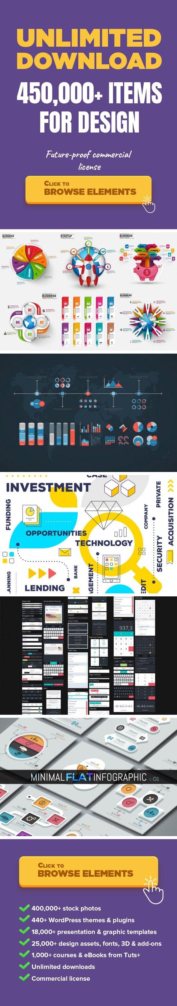 Marketing D Infographics Graphic Templates Infographics