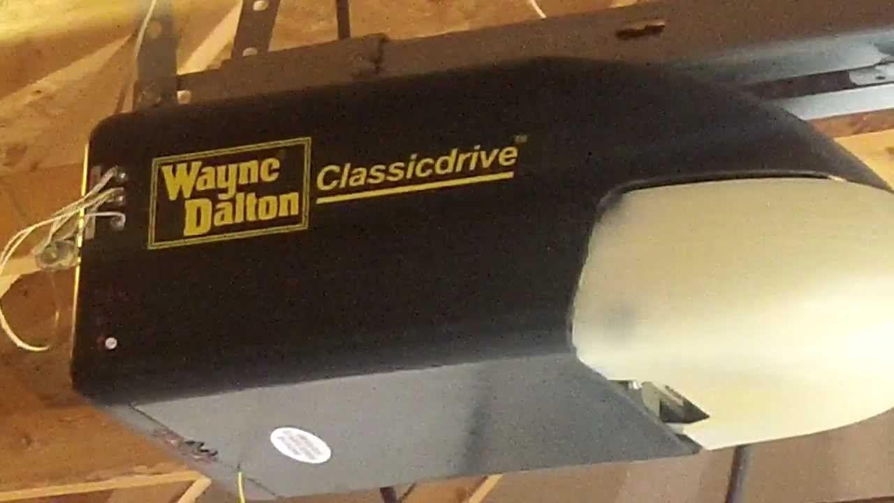 Wayne Dalton Quantum Garage Door Opener Troubleshooting Http