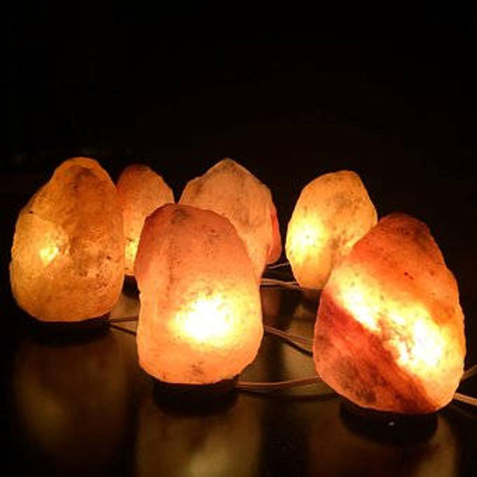 Rose De L Himalaya Ionisation Naturelle Lampe Cristal De Sel De