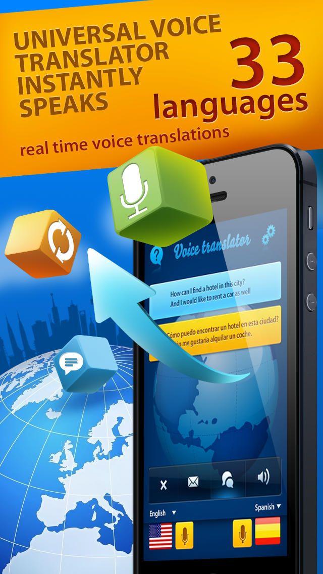 iPhone App Speech Translator voice Ios news, App, Ios