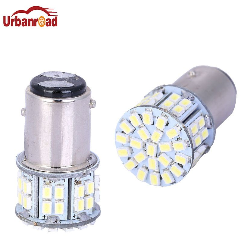 1157 3020 Smd 50 Led Car Light Bay15d P21 5w Auto Brake Light Bulb Lamps Xenon For Ford Car Styling White Brakes Car Car Lights Light Bulb Lamp