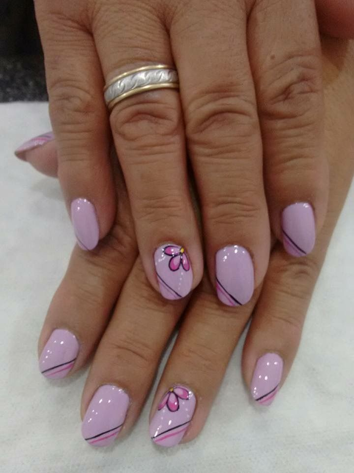 Pin by Leidy Amarillo on Uñas   Pinterest   French manicure nails ...