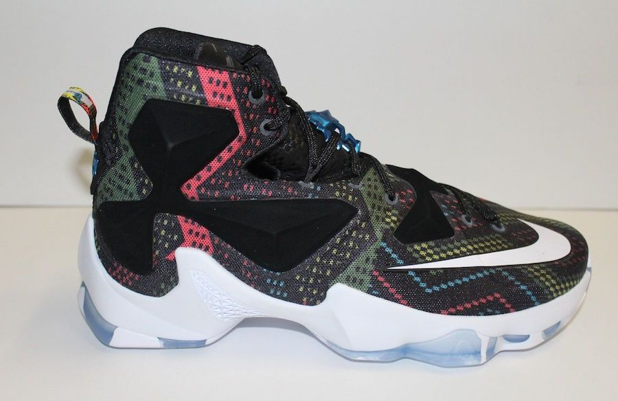 Nike LeBron 13 BHM Black History Month will be put into the nice kicks  section in