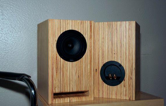 Layered Maple Plywood Speakers Handmade Full By Steeltreeworks Wood Speakers Speaker Design Audio Design