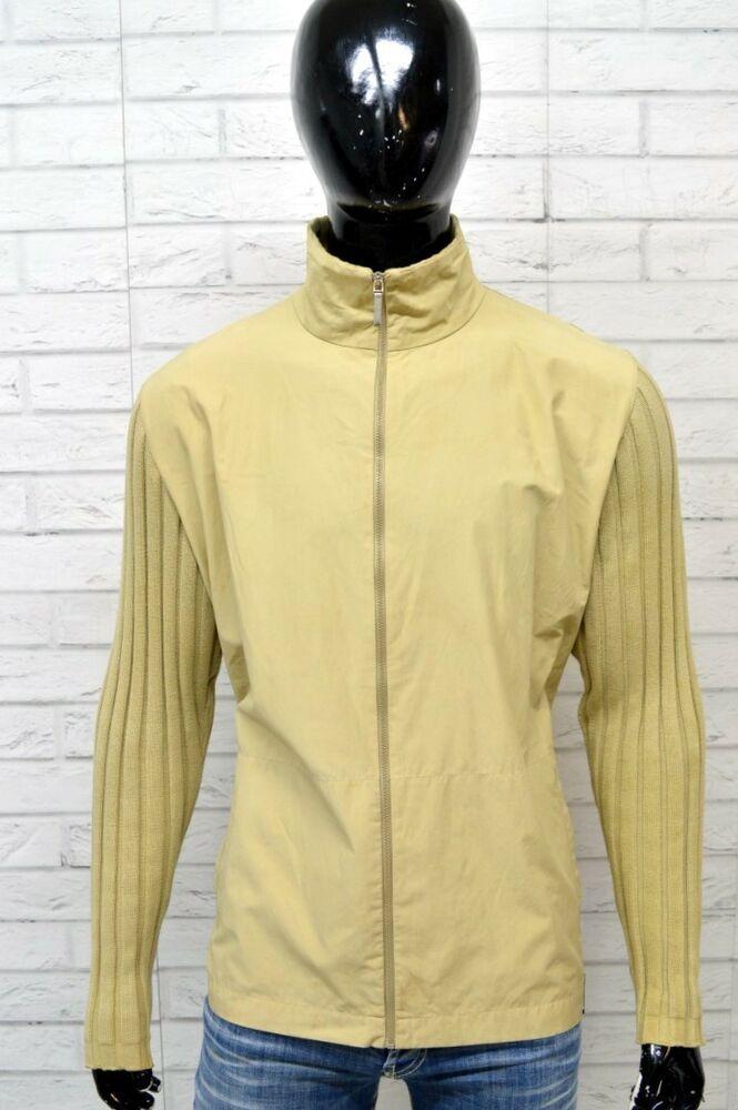 vasta selezione di 40c32 60a7b Maglione Uomo MOSCHINO Taglia XL Pullover con Zip Sweather ...