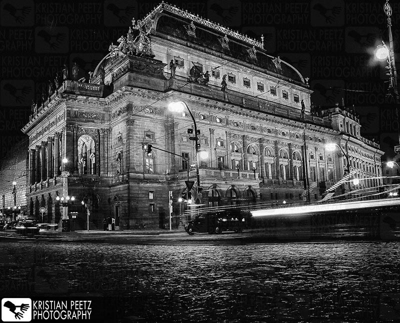 Going on with the #blackandwhitechallenge, my 3rd entry is a night image of the National Theater(Národní divadlo)in Prague. I took this pic a long time ago, while visiting the city with my brothe...