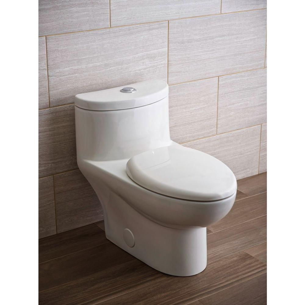 Glacier bay high efficiency dual flush toilet sells at home depot for - Toilet