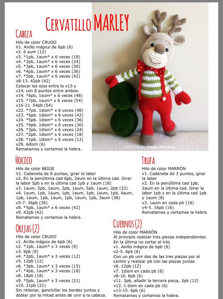 Patrón de amigurumi micromundo navideño de ganchillo   1006x750