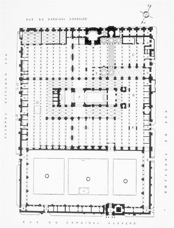 Cordoba Mosque Cathedral Plan Pinterest Cordoba Architecture Plan And Architecture