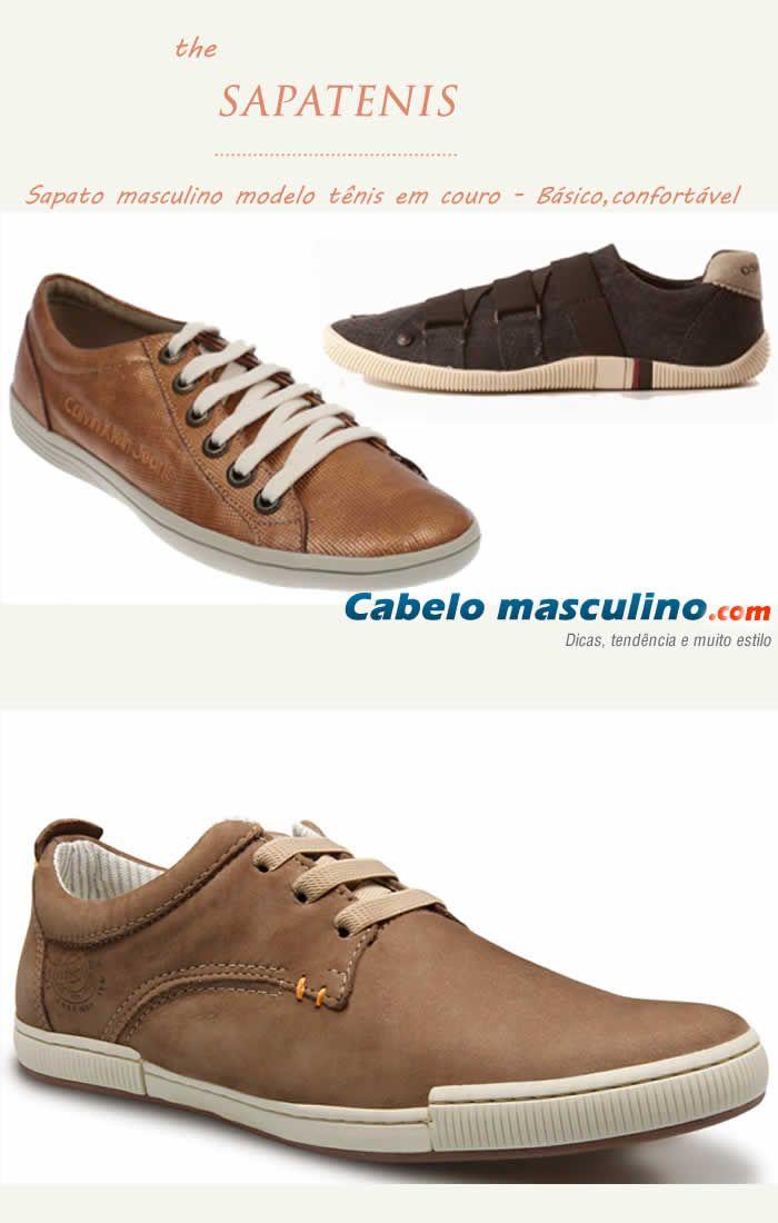 291616de8 sapato-masculino-sapatenis | Image Consulting | Sapatos masculinos ...