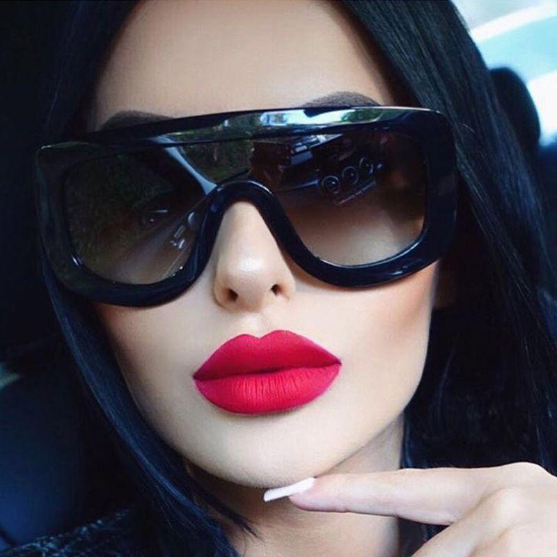 WINLA Neueste Einzigartige Frauen Sonnenbrille Platz Gläser Vintage ...
