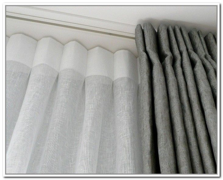 Wonderful Ceiling Mount Curtain Rods The Biggest Home Interior