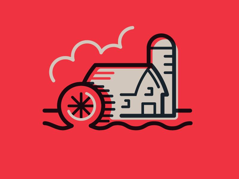 Farm Icon Icon Pixel Art Icon Design