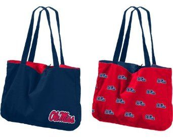 Ole Miss Reversible Tote Bag WANT!