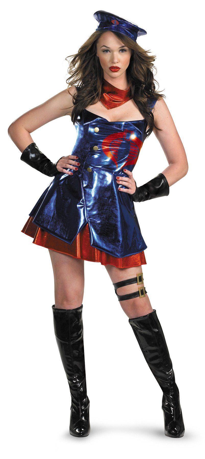 Gi Joe Cobra Adult 810 Costumes for women, Adult