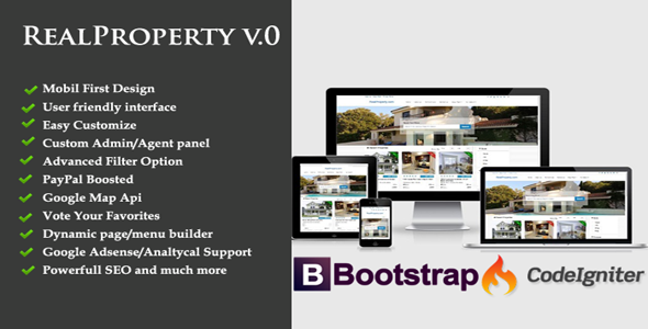 Real Property- A Complete Real Estate portal system | Code