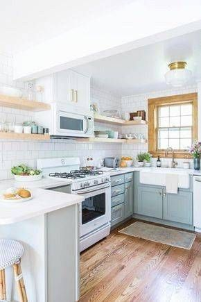 10+ Incredible Small Galley Kitchen Remodel Ideas #longnarrowkitchen