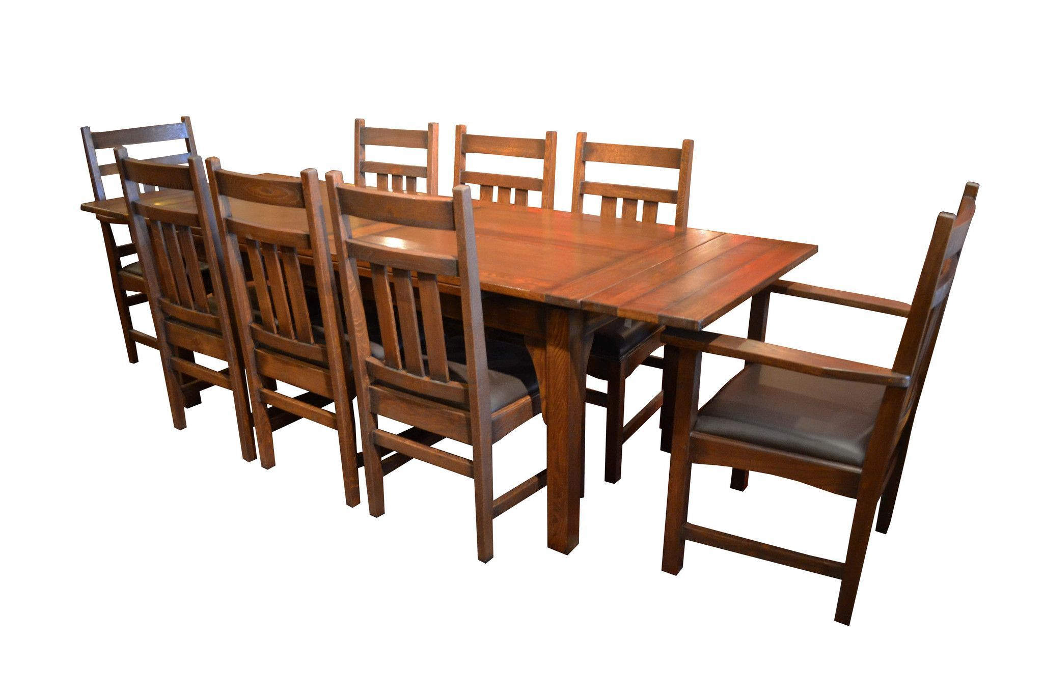 Craftsman Dining Room Table, Craftsman Dining Room Set