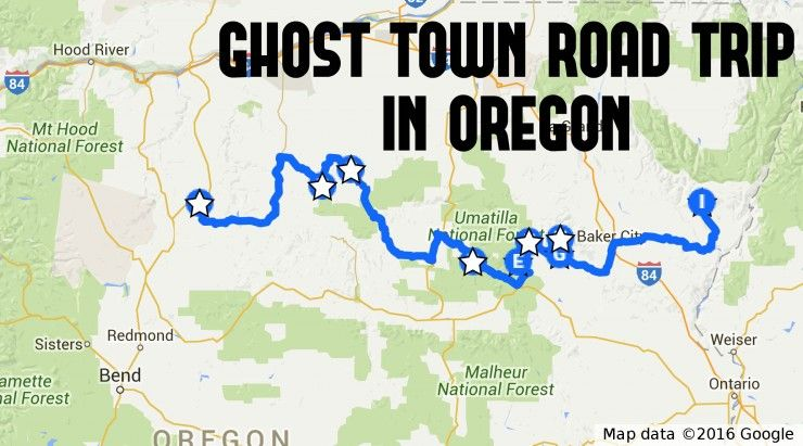 This Ghost Town Road Trip In Oregon Is The Perfect Adventure Ode