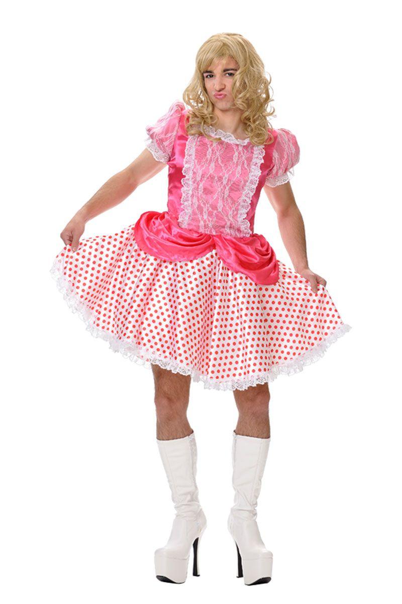 Disfraz de princesa #Barbie para hombre   Disfraces para despedidas ...