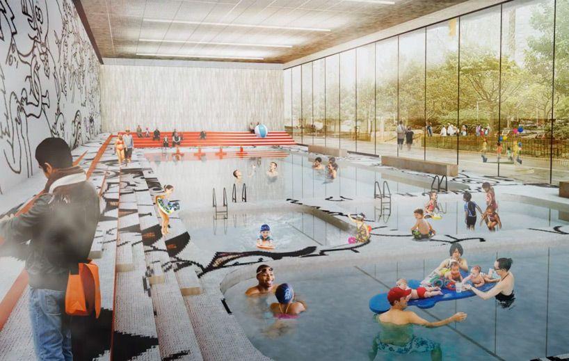 bjarke ingels group plans BIG U for rebuild by design in manhattan, new york, USA