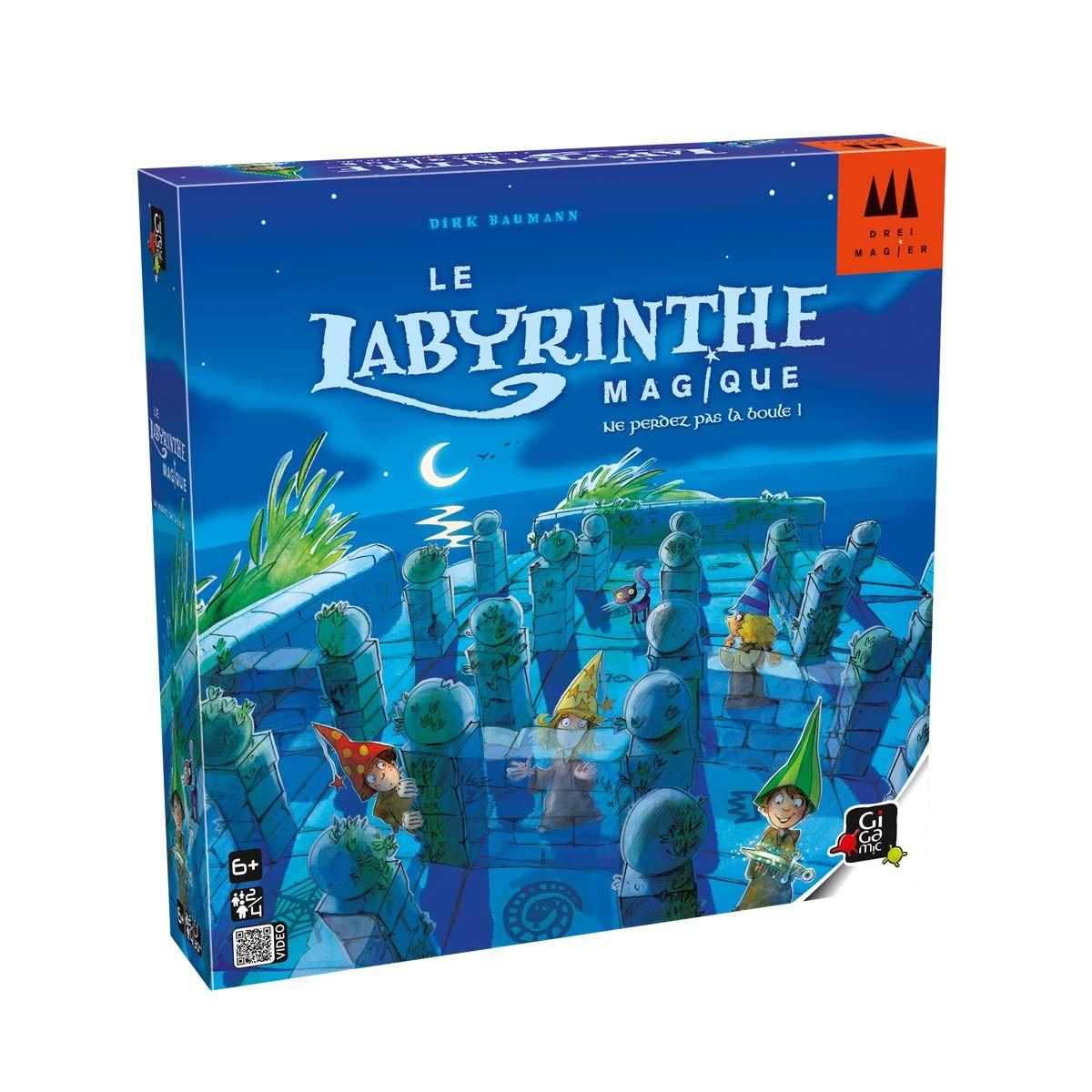 Jeu De Societe Le Labyrinthe Magique Gigamic Pour Enfant De 6 Ans A 10 Ans Oxybul Eveil Et Jeux Jeux De Societe Enfant Jeux De Societe Jeux