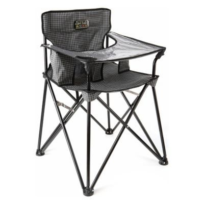 Ciao Baby Portable High Chair In Black White Products