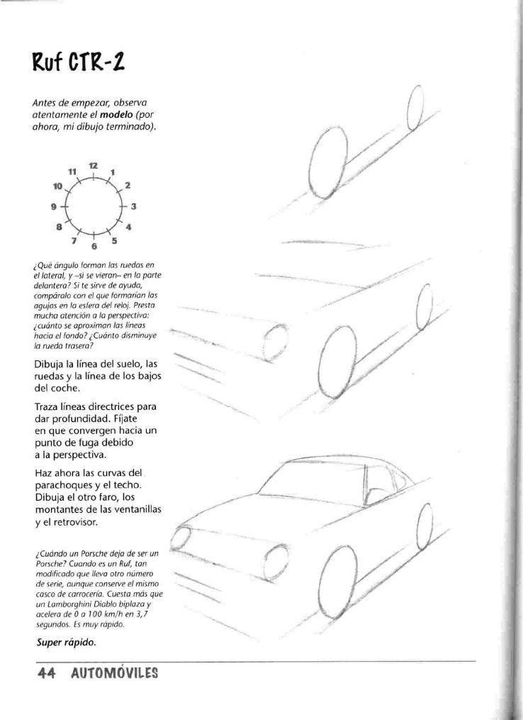Como Dibujar Autos Paso A Paso Sketch Book Car Drawings Car Sketch