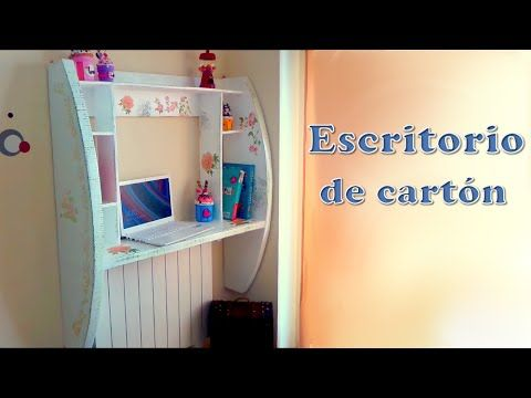 mueble de pared hecho con cartón Diy, tutorial paso a paso