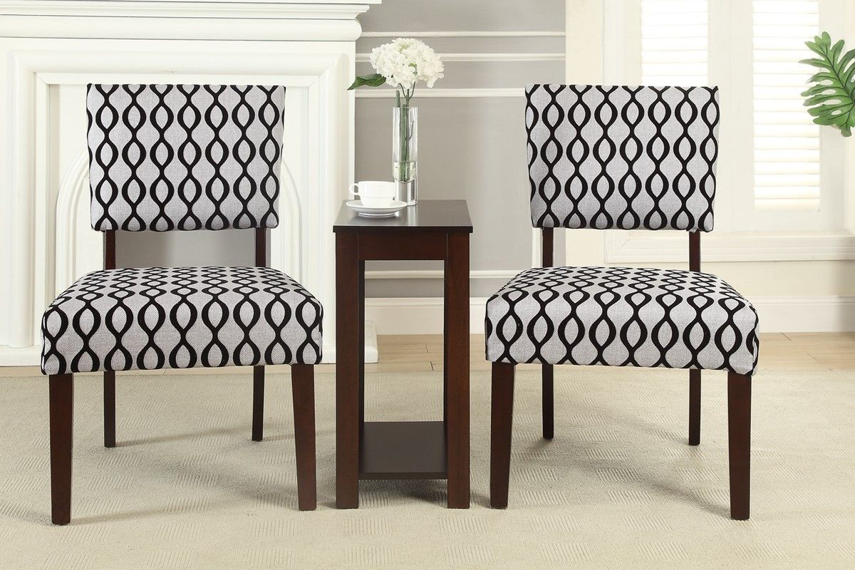 On Sale 275 00 3pcs Accent Chair Chair Side Tables Products