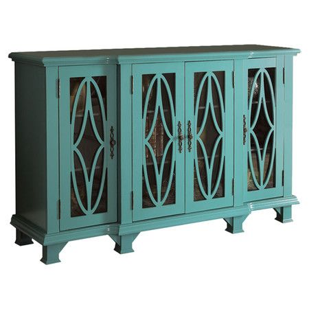 Found it at Wayfair - Block Cabinet in Blue Home inspiration