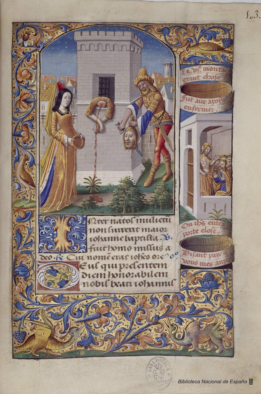 Libro De Horas De Carlos Viii Rey De Francia Produccion Artistica Manuscrito Iluminado Siglo Xv