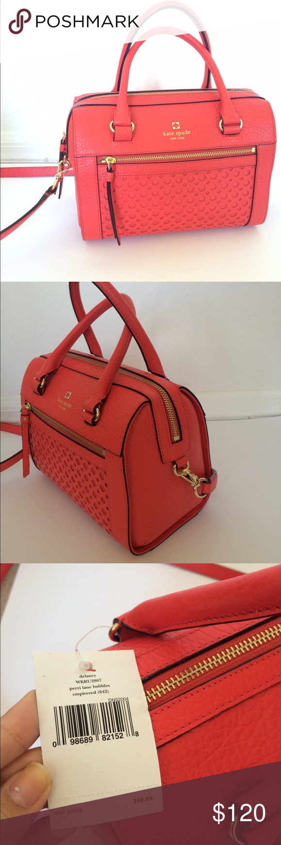 Authentic Kate Spade Bag New with price tags. kate spade Bags