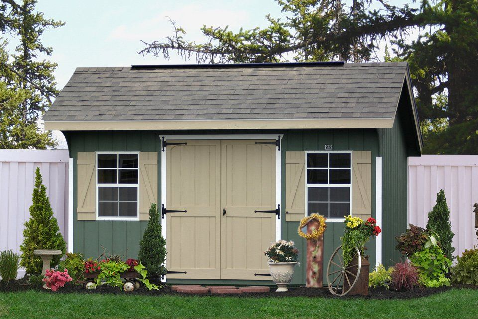classic garden sheds from the amish in lancaster pa - Garden Sheds Nj