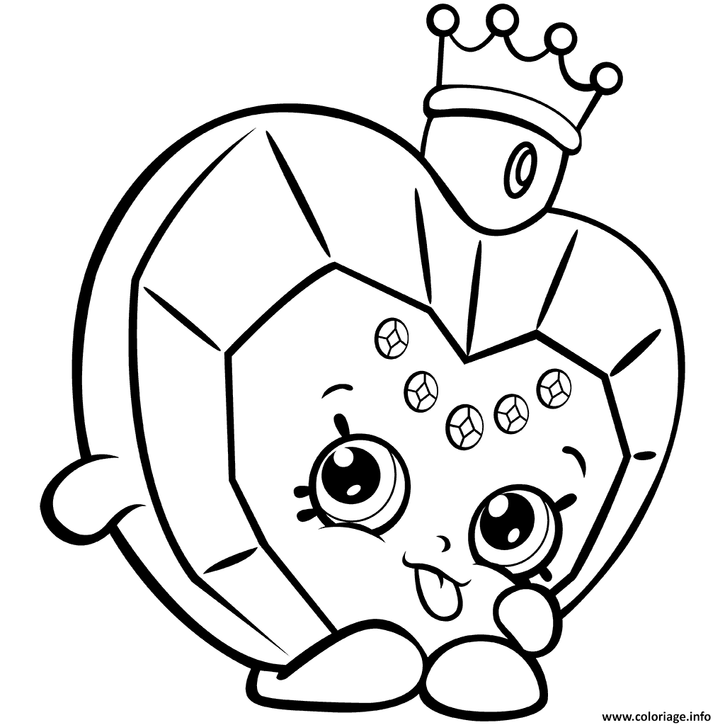 Season 7 Perfume Shopkins Big Hearted Princess Scent Coloring Pages Printable And Book To Print For Free Find More Online Kids