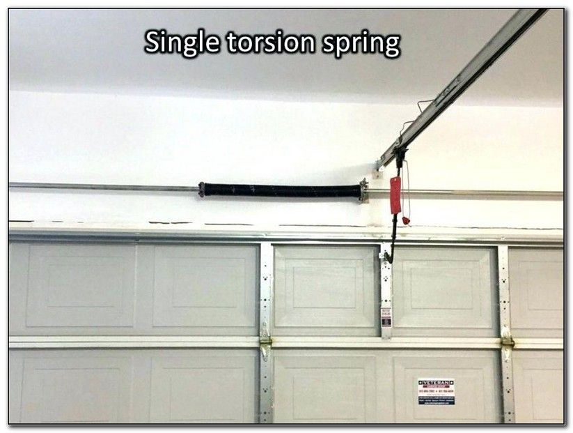 Garage Door Single Torsion Spring Adjustment Check More At Http