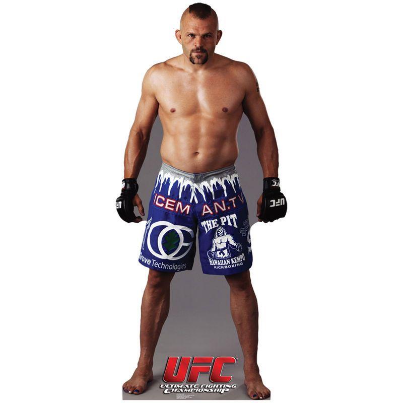 61a87613b UFC Chuck Liddell Fighter Cardboard Standup