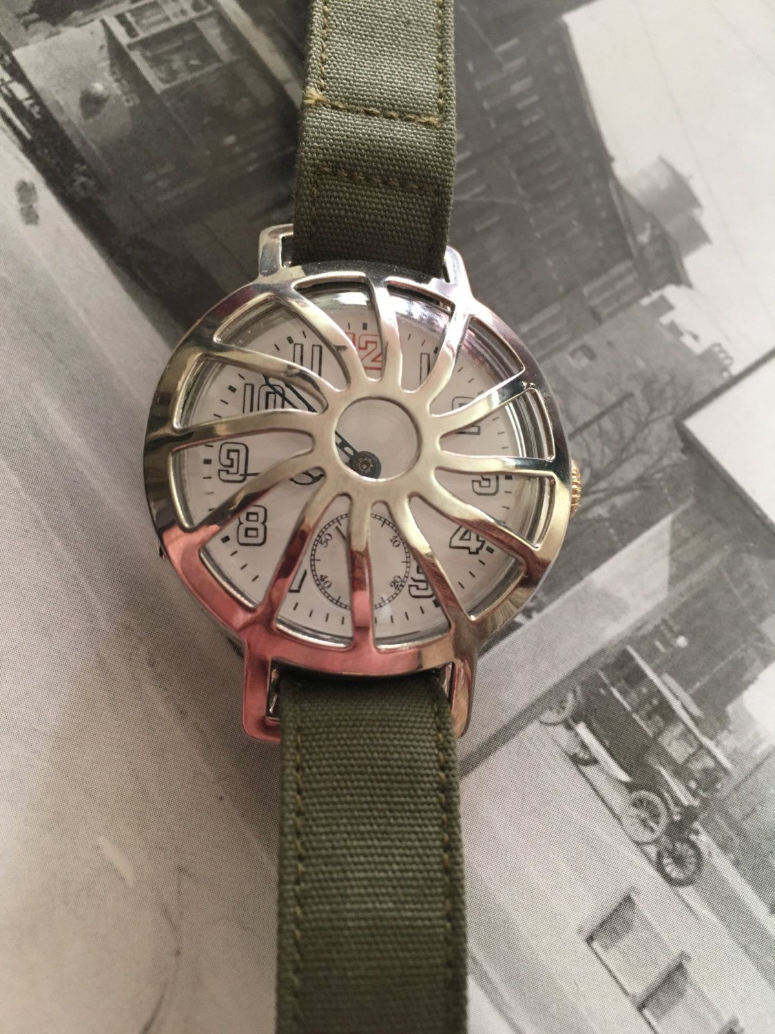 Antique 1915 Zenith Trench Watch All Original With Shrapnel Guard Dazzle Diamond Coating Serviced And Running Great A True Beauty By Theoldwatchdoctor On Etsy