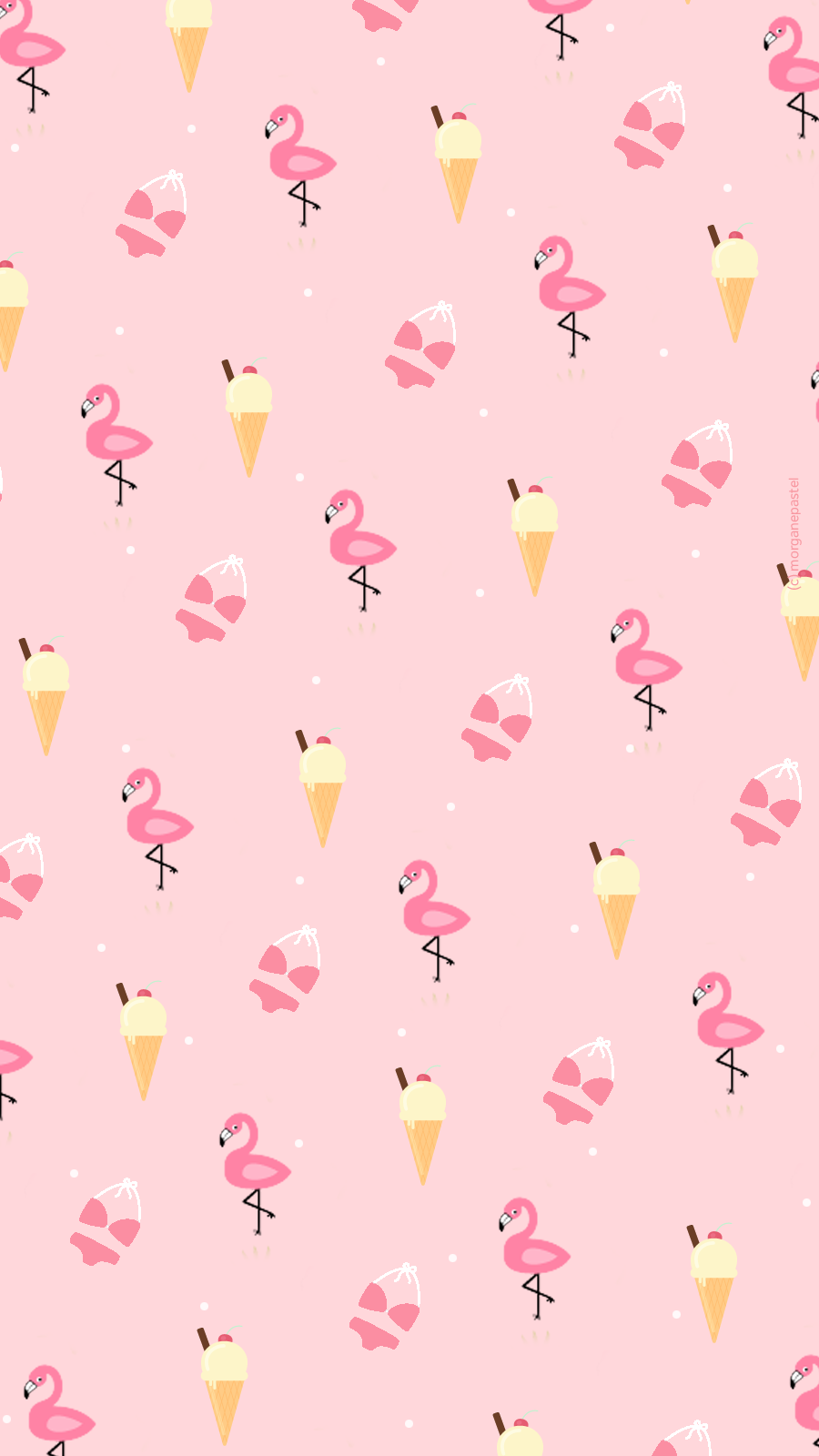 Wallpaper-Glace-Flamingo_iphone6.png 900×1600 пикс