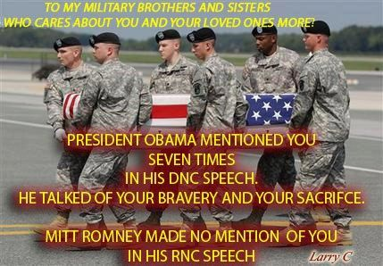 Can you believe a draft dodger wants to Commander-In-Chief? This has got to be the funniest joke ever.
