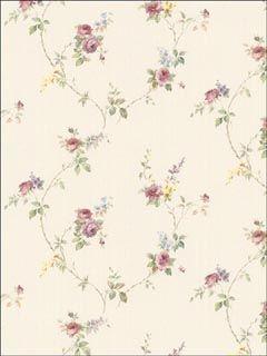 Patton Norwall PR33809 Floral Trail Wallpaper