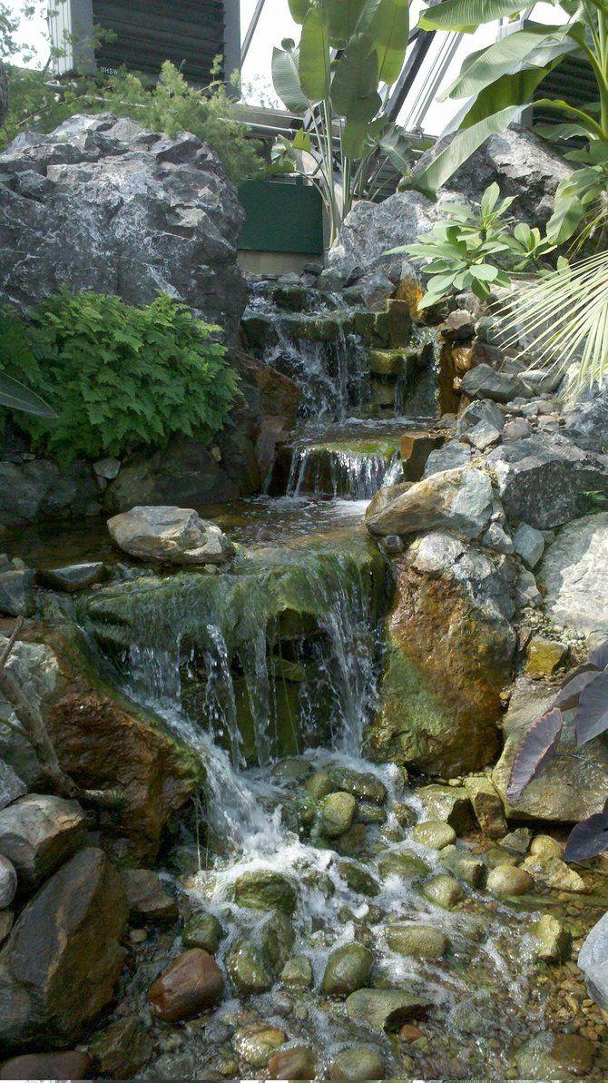Indoor Waterfall By Cthulad On Deviantart Indoor Waterfall