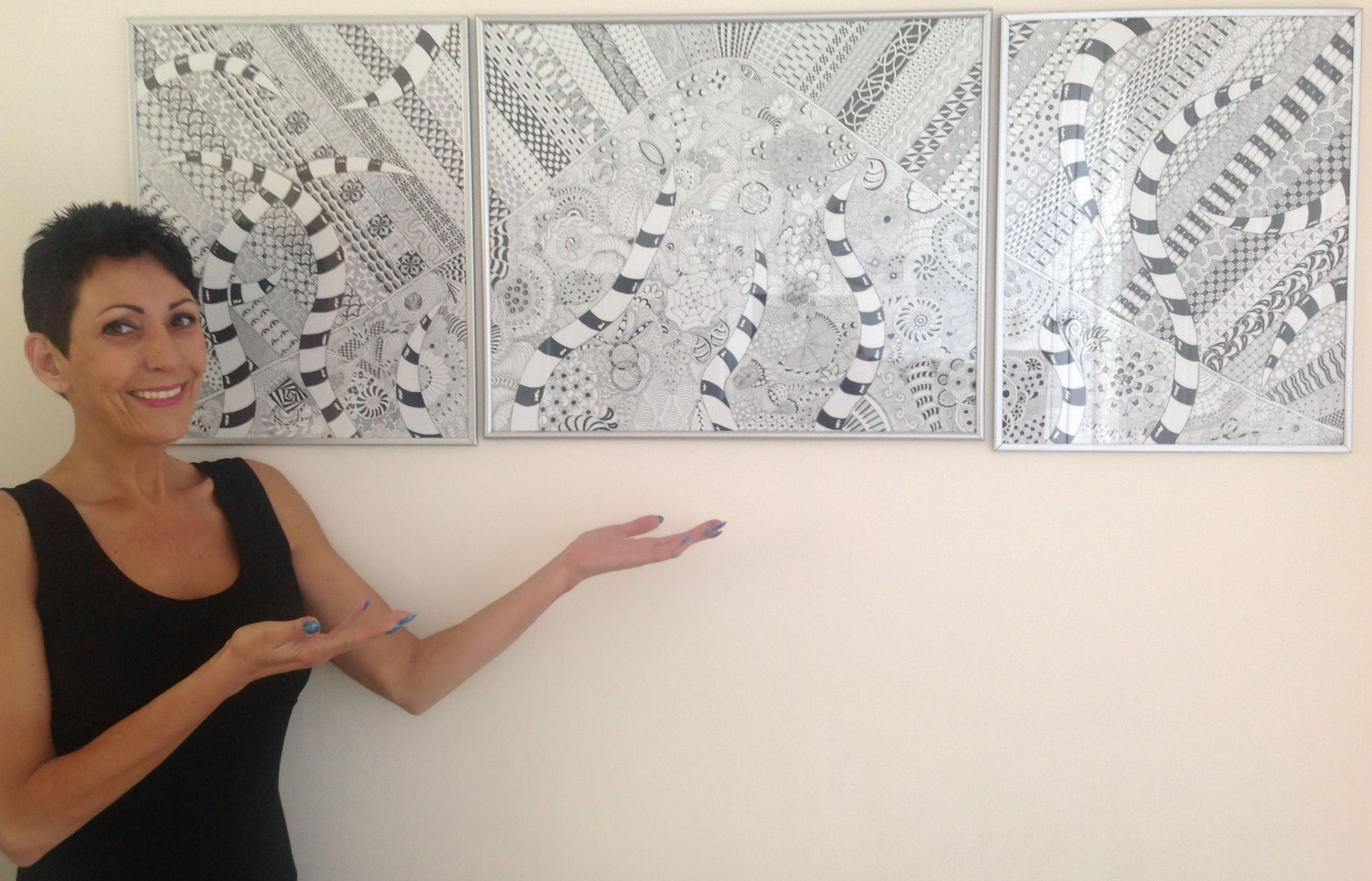 Zentangle made by Mariska den Boer 155