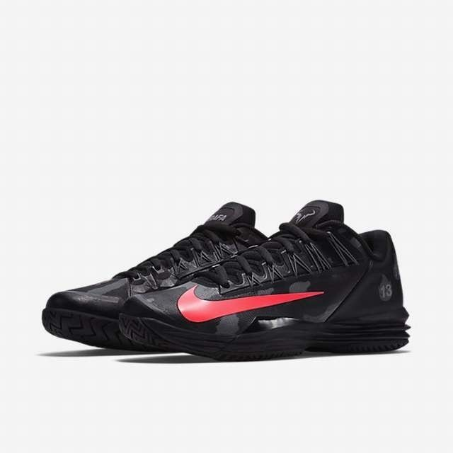 lowest price 3b6ed 9e785 ... Nike lunar ballistec 1.5 legend rafael nadal new mens black tennis  trainers ...