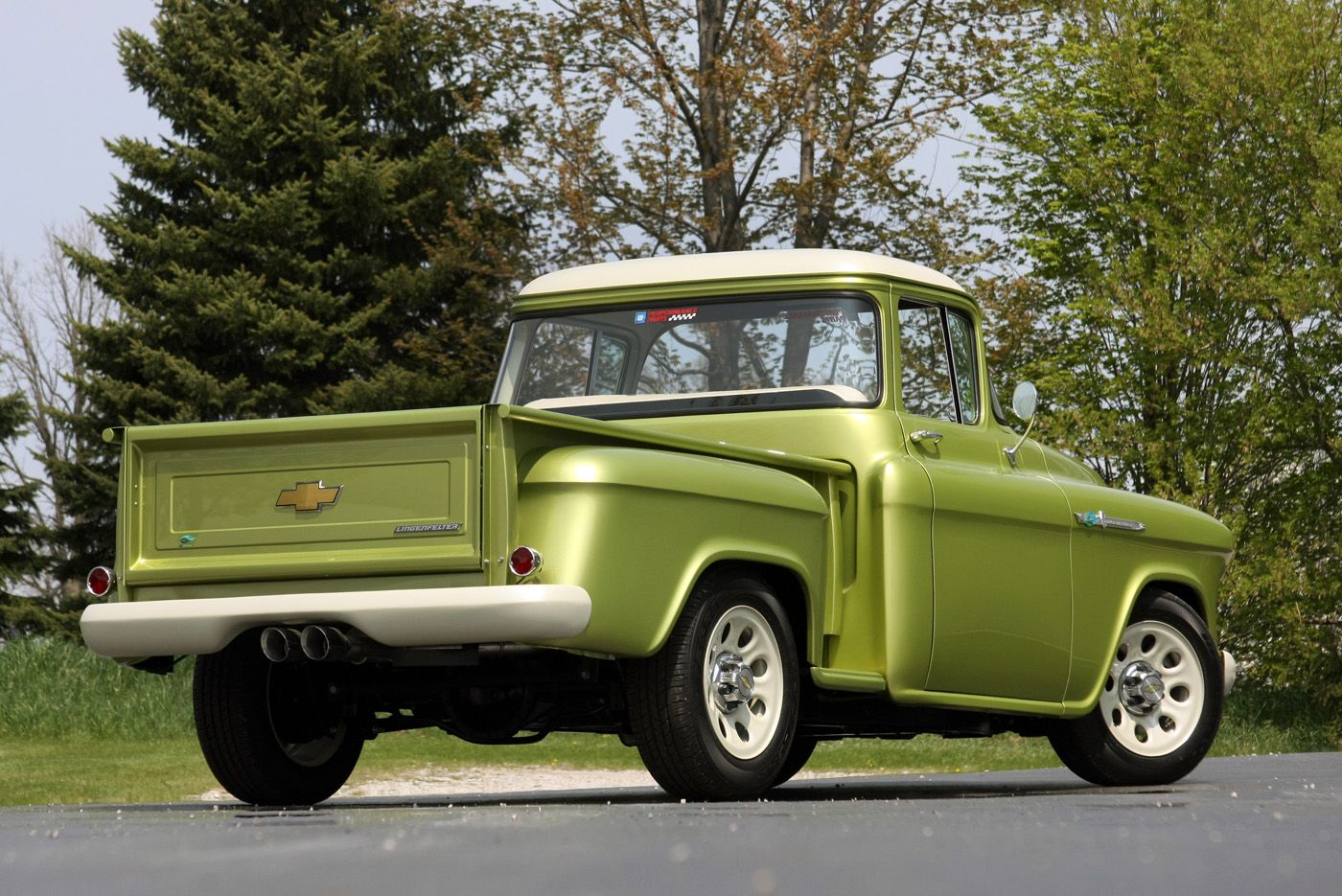 1955 Chevrolet E Rod Pickup Computer Wallpapers Desktop Backgrounds 1400x935 Id 289001 1955 Chevrolet Trucks Chevrolet