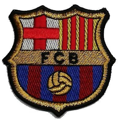 Barcelona (FCB) BARCA Patch , 100% Embroideried , Iron on/Sew on - High Quality! in Sports Mem, Cards & Fan Shop,Fan Apparel & Souvenirs,Soccer-International Clubs | eBay