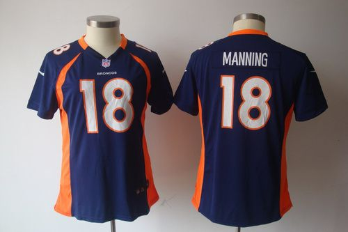$22 for Women's Nike Denver Broncos #18 Peyton Manning Game Blue Jersey.Buy Now! http://55usd.com/Women-s-Nike-Denver-Broncos--18-Peyton-Manning-Game-Blue-Jersey-productview-132965.html #Women #Nike #NFL #SDenver_Broncoss #Peyton_Mannings #Jersey #18 #55USD