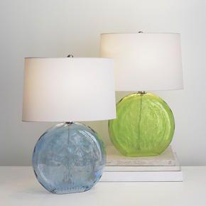 Optic sea glass table lamp beach bedroom pinterest optic sea glass table lamp mozeypictures Images