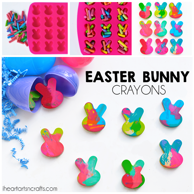 Today I'm sharing a super easy craft and inexpensive gift idea for Easter! If you're looking for some non-candy Easter egg fillers these Easter Bunny Crayons are the perfect alternative! You can buy some cheap crayons to use for this activity or recycle those broken crayons you have laying around the house. Easter Bunny Crayons This …